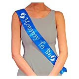 Amazon Price History for:Blue Mommy To Be Sash - Baby Shower Decorations gift for Boy