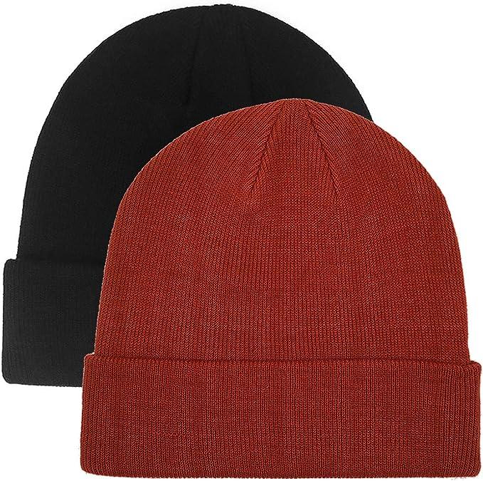 Winter Autumn Beanies Hat Unisex ROCK Label Warm Soft Knitting Cap Hats