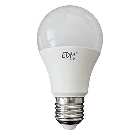 BOMBILLA STANDARD LED 7W E27 3.200K LUZ CALIDA EDM