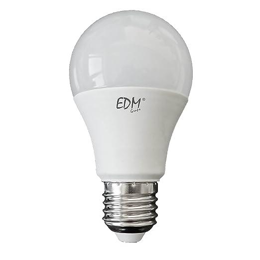 BOMBILLA STANDARD LED 7W E27 6.400K LUZ FRIA EDM. Mejor precio garantizado