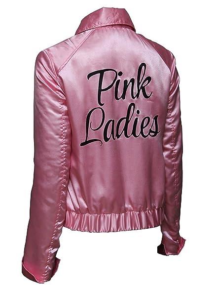 Amazon.com: Womens Grease Pink Ladies Jacket Costume: Clothing