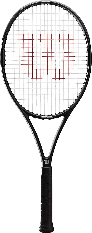 Wilson Pro Staff Precision 100 Raqueta de Tennis Black//White Unisex-Adult