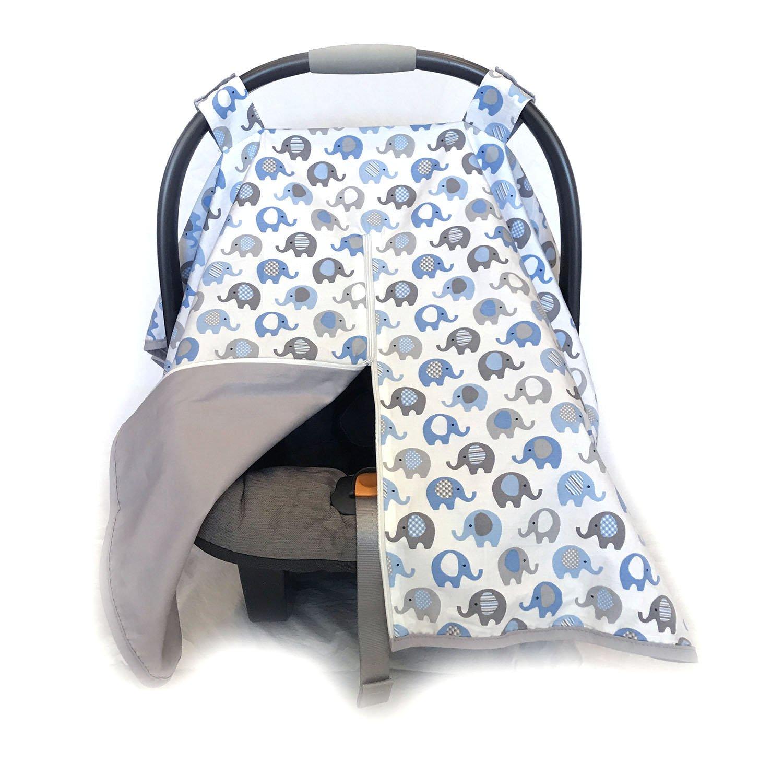 Amazon Com Vera Elephant 100 Breathable Cotton Baby Car