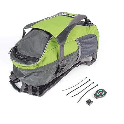 b98d4fcfe8e7 Amazon.com   LED Turn Signal Light Reflective Vest Backpack Waist ...