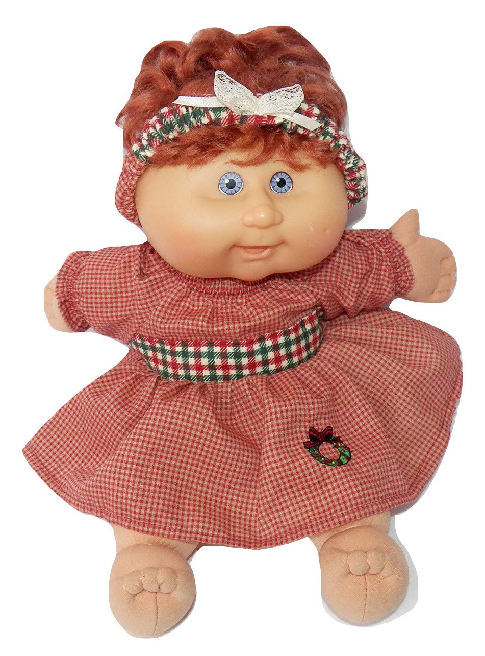 Cabbage Patch Doll Clothes Fits 14 Inch Girl or Preemie Dress and Headband