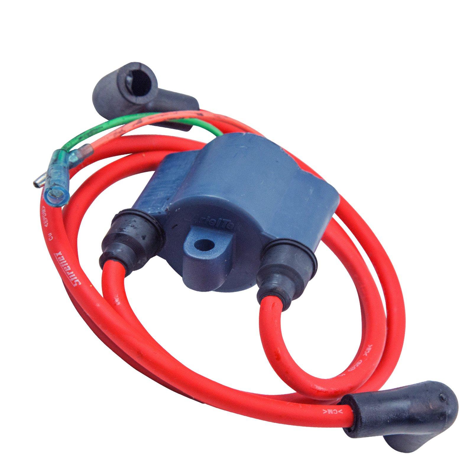 Compatible With Yamaha Ignition Coil 62E / 61L-85570-00-00 650 700 701 VXR Super Jet Wave Blaster Runner Raider by Jet Ski Plus