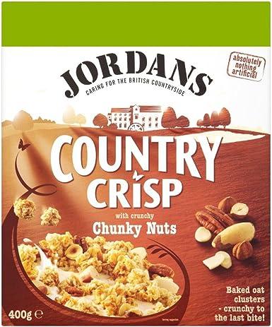 Jordans Country Crisp - Cereales con frutos secos - Caja de 400 g - Pack de 2 unidades: Amazon.es: Alimentación y bebidas