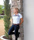 Equine Couture Women's Patriot Short Sleeve Polo