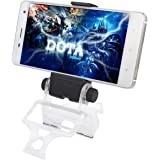 Megadream PS4 Android Phone Clip, 180 Degree Rotation Gaming Holder Mount for Sony Playstation 4 Slim Pro Controller, Samsung Galaxy S8+ S7Edge Note 8 Nexus Moto with OTG Cable – Maximum 6 inch Phone