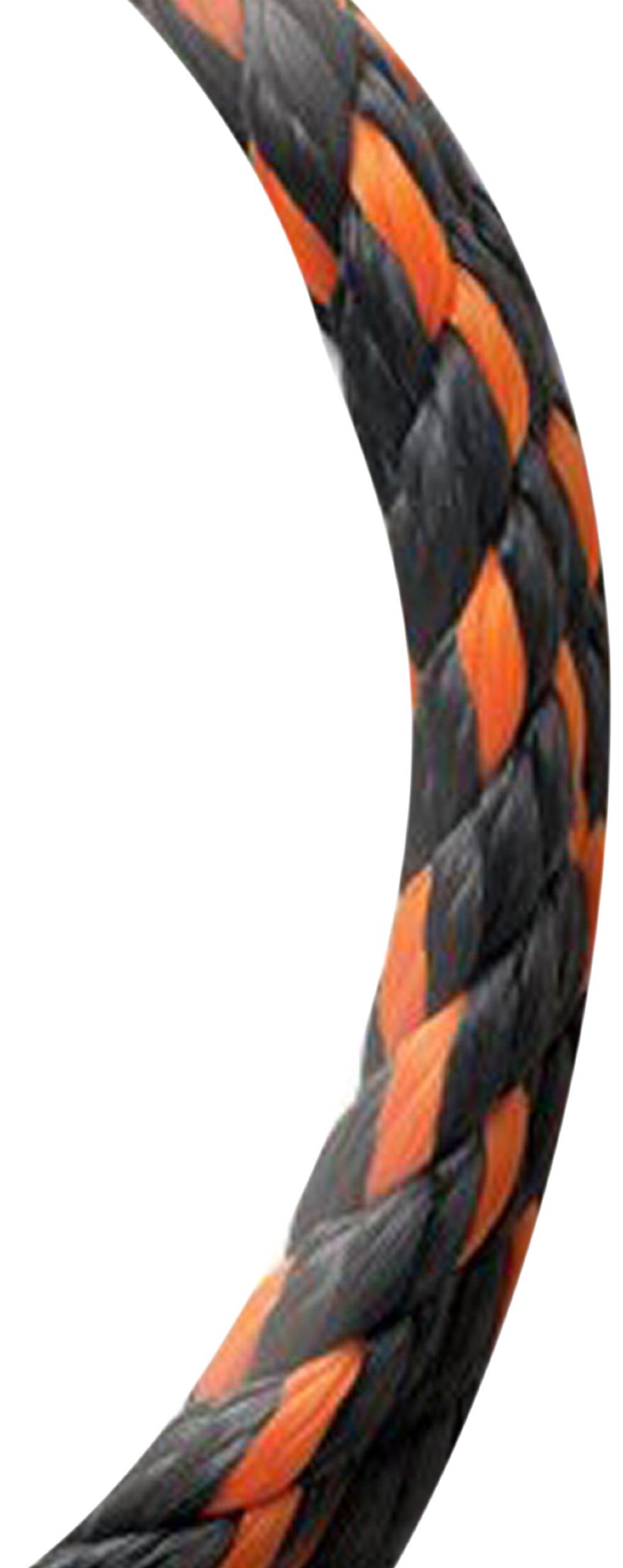Koch 5032045 5/8 by 140-Feet Poly Twisted 3 Strand Rope, Orange/Black