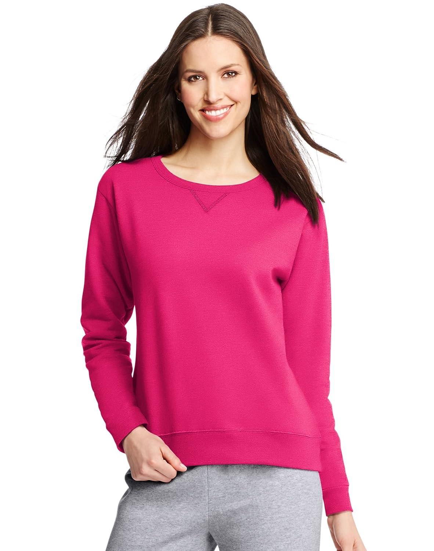 Hanes ComfortSoft EcoSmart Women's Crewneck Sweatshirt O4633