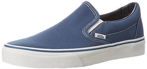 Vans U CLASSIC SLIP-ON NAVY VEYENVY - Zapatillas de lona para unisex-adultos: Amazon.es: Zapatos y complementos