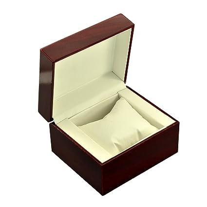 Amazoncom Personalized Single Watch Jewelry Box Storage Wood Case