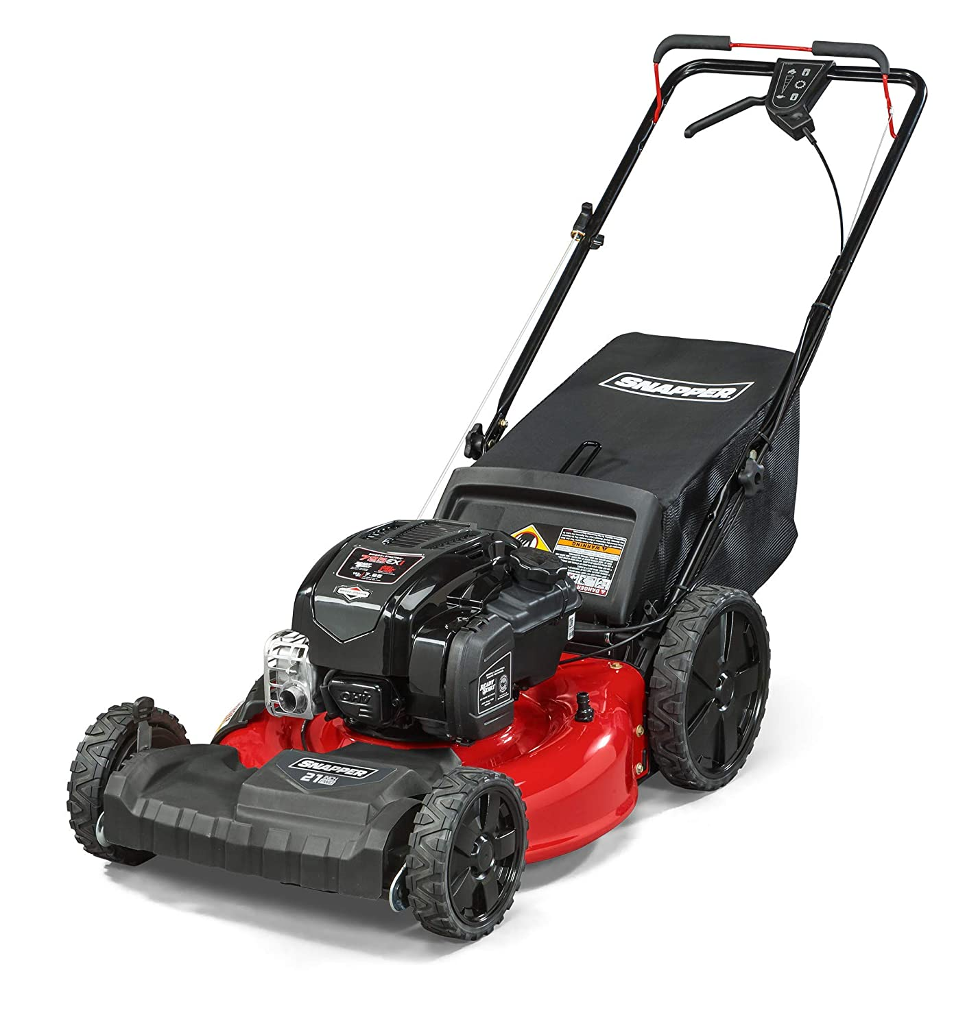"""Snapper 12AVB2A2707 21"""" Self Propelled Gas-Powered Mower Snapper Lawn Mower Reviews"""