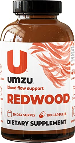 UMZU Redwood, Nitric Oxide Booster Capsules – 30 Day Supply – N.O. Supplement for Circulatory Support