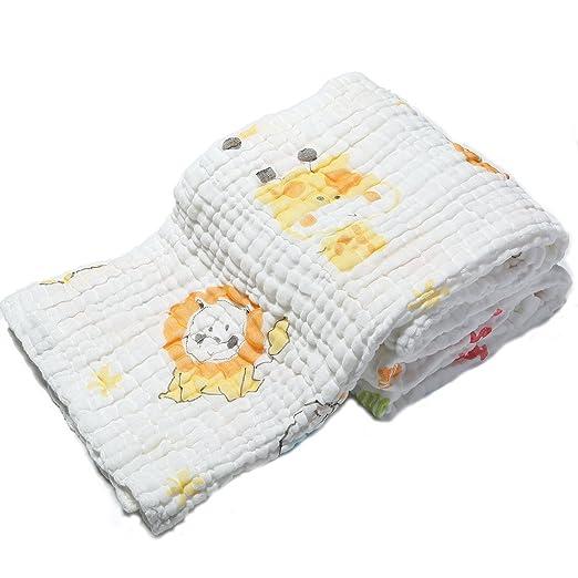 29 opinioni per Lucear Asciugamano Neonato Bagno Bambino Baby Bath Towel in Mussola Cotone Nido