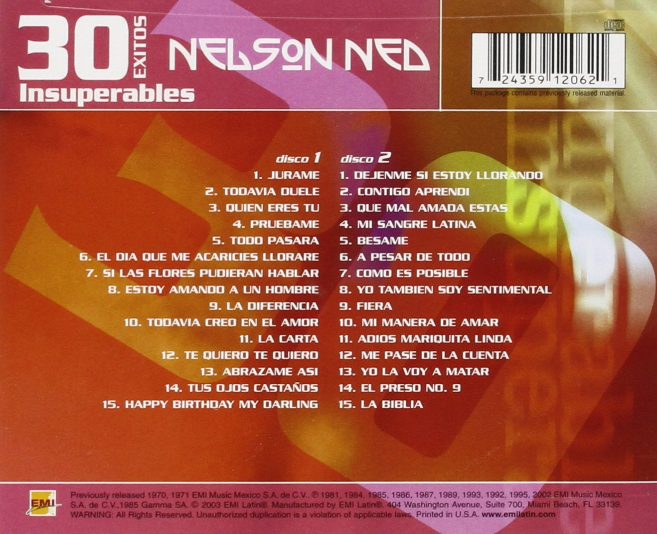 nelson ned - 30 exitos insuperables