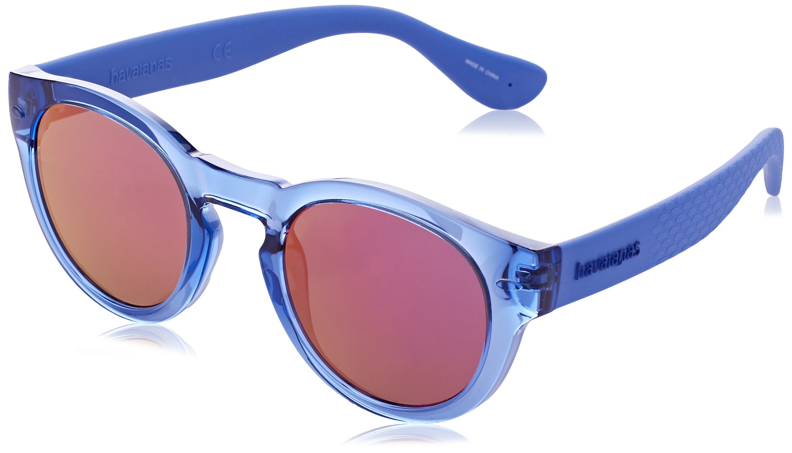 Havaianas Trancoso/m Round Sunglasses, Blu Bluet, 49 mm by Havaianas