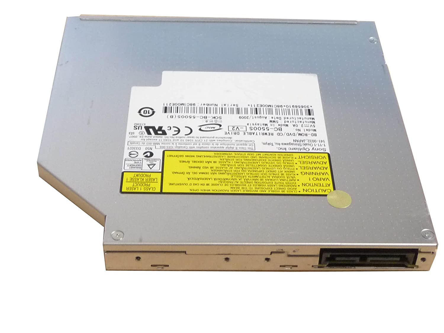 SONY OPTIARC BD ROM BC-5500S WINDOWS 7 DRIVER DOWNLOAD