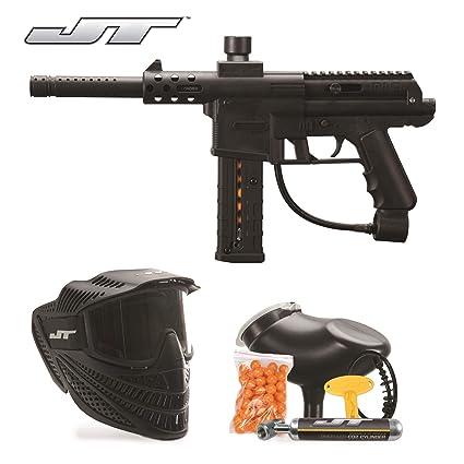 Amazon Com Jt Dl9 Rtp 68cal Paintball Kit Includes Raptor Goggle