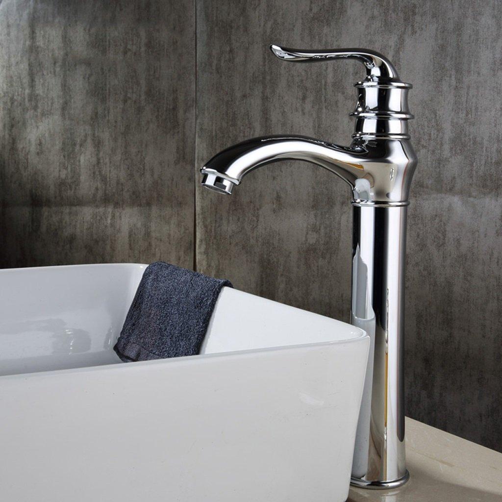 Alle Hoch - Grad Antique Basin Basin Wasserhahn Badezimmer mit warmen und kalten Waschbecken Hahn-Badezimmer-Counter-Becken Wasserhahn