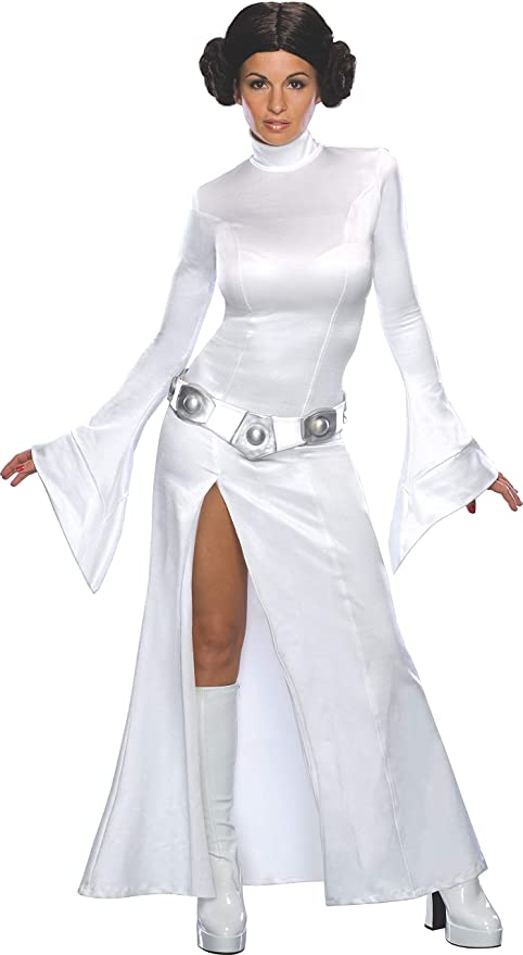 Star Wars - T-888610M - Disfraz de princesa Leia, talla M: Amazon ...
