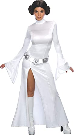 Amazon Com Secret Wishes Star Wars Princess Leia Costume Clothing