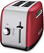 KitchenAid KMT2115ER Toaster with Manual High-Lift Lever, Empire Red