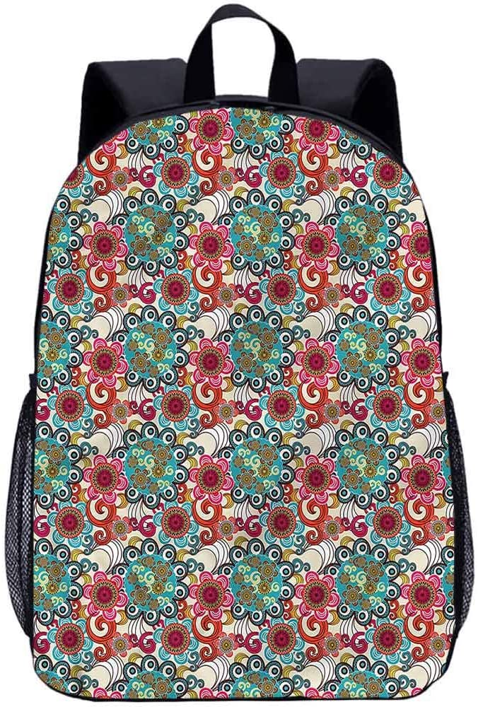 "Paint 17"" School Backpack, Forms Laptop Backpack for Kids"