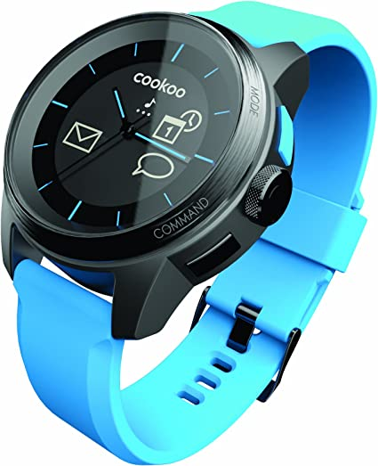 COOKOO Smart Bluetooth Connected Watch, Blue