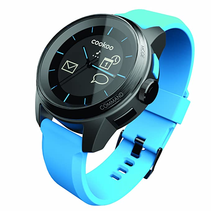 Cookoo SmartWatch Bluetooth Azul para iPhone