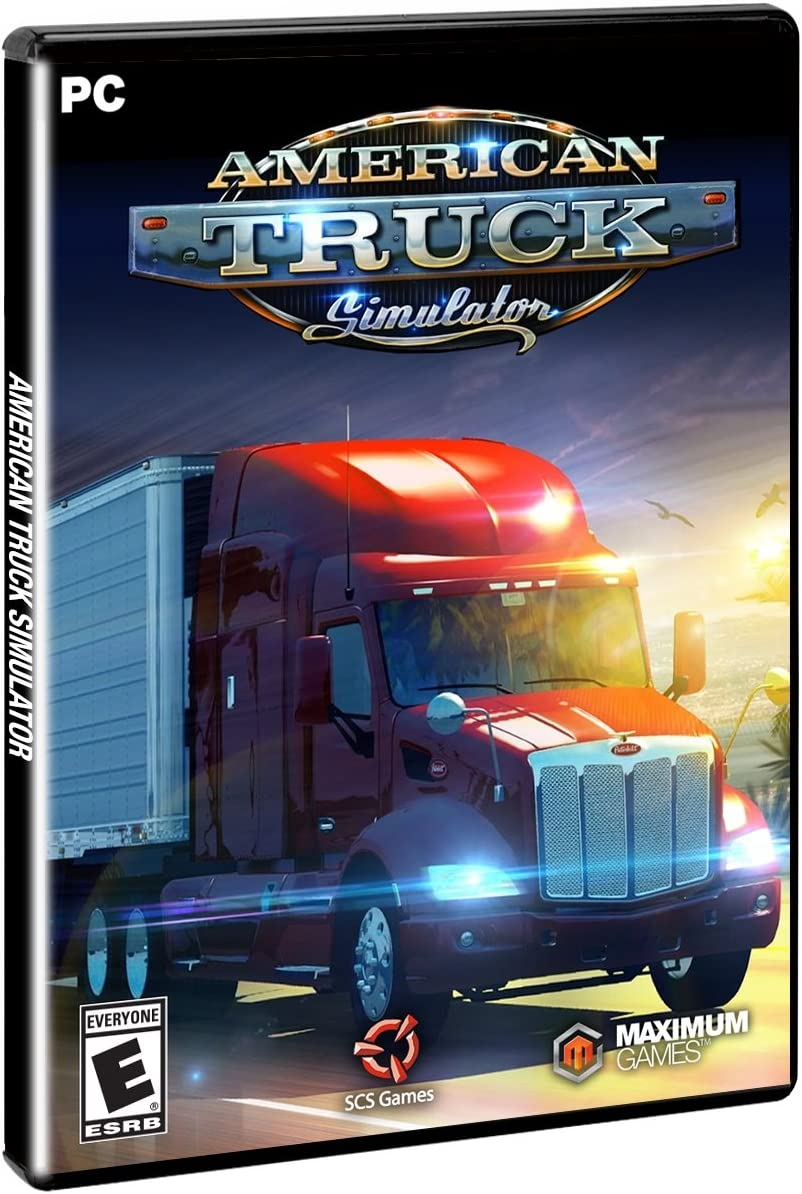 Amazon com: American Truck Simulator - PC: Video Games