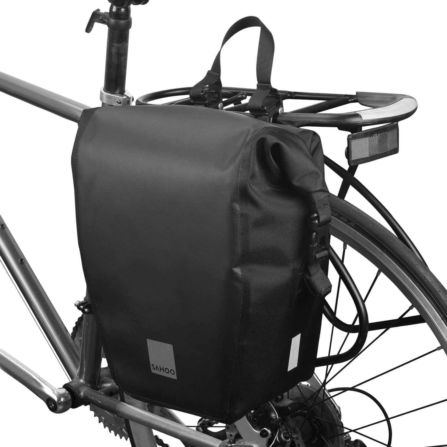 Bike Bicycle Cycle Bag for Rear Rack Bicycle Double Panniers BikyBag M