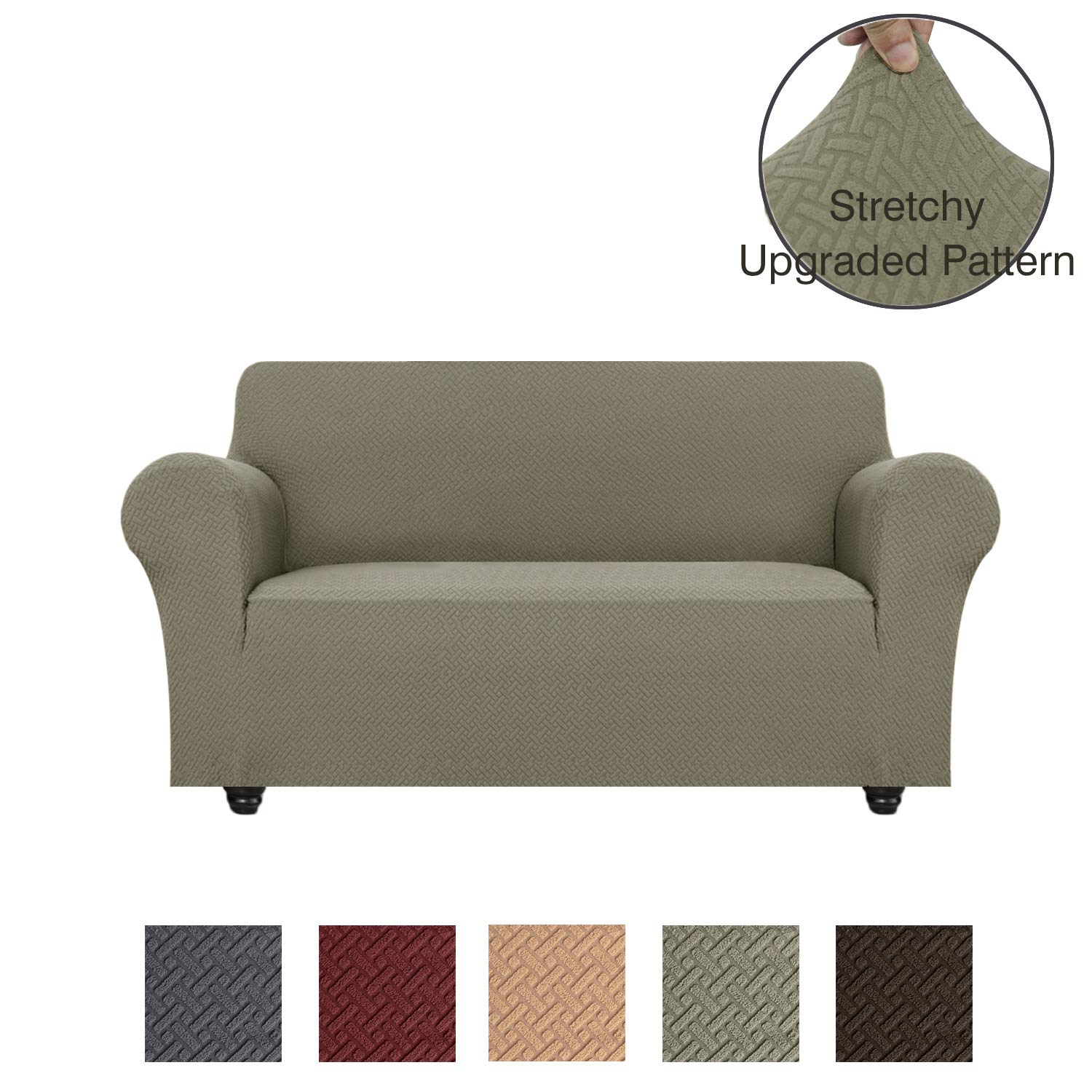 Marvelous Obytex Stretch Loveseat Cover Polyester And Spandex Upgrade Pattern Couch Covers Dog Cat Pet Slipcovers Furniture Protectorsmachine Washable Inzonedesignstudio Interior Chair Design Inzonedesignstudiocom