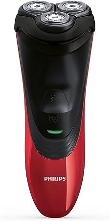 Philips Shaver Series 5000 PowerTouch PT856/08 Recortadora Negro, Rojo- Afeitadora (Máquina de Afeitar de rotación, HQ8, 2 año(s), LED, AC/Batería), Manual: Amazon.es: Hogar