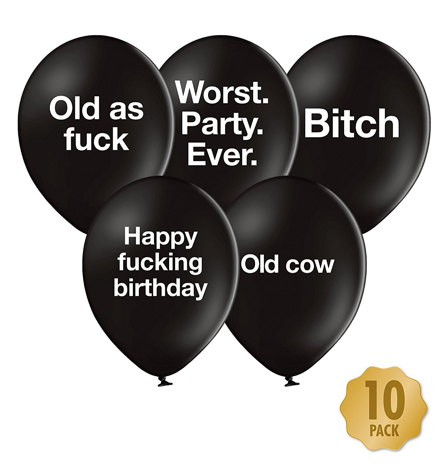 Abusive Birthday Balloons