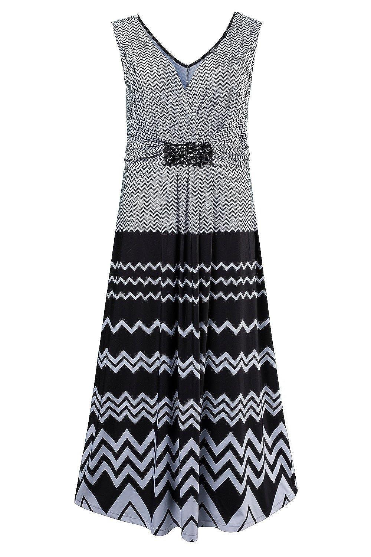 GINA LAURA Damen Kleid | Ärmellos mit ausgestelltem Rock | 174400