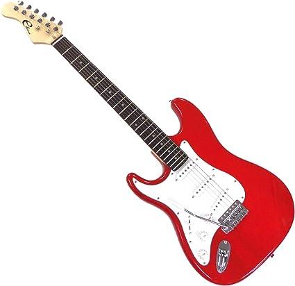 eleca dgt1l-rd zurdos tamaño completo 3 Pickup Guitarra eléctrica ...