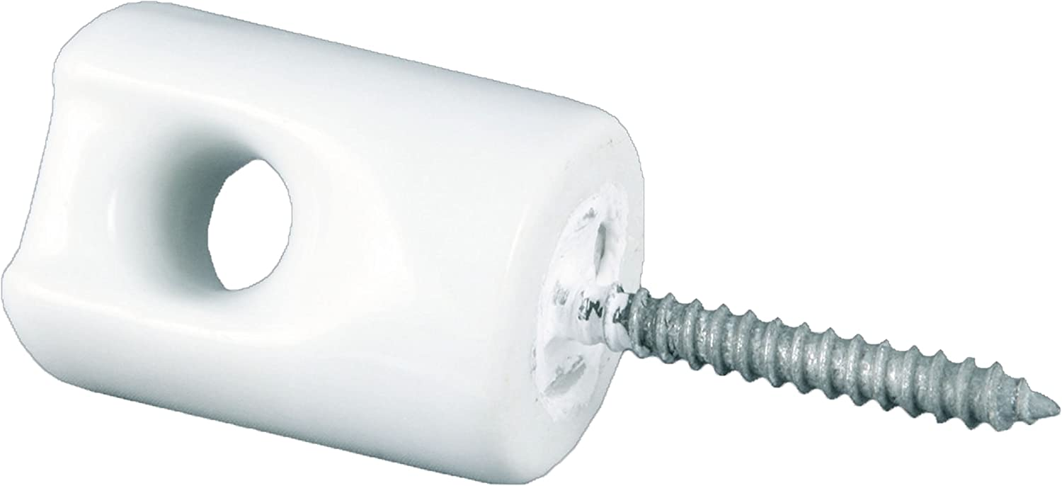 Wood Screw On Insulators 25pk High Quility