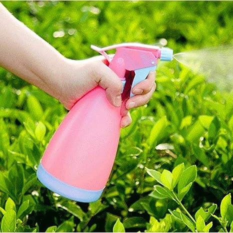 Naisidier Spray Botella riego Puede Olla plástico gatillo Mano-presión Spray atomizador nebulizador pulverizador Recargable