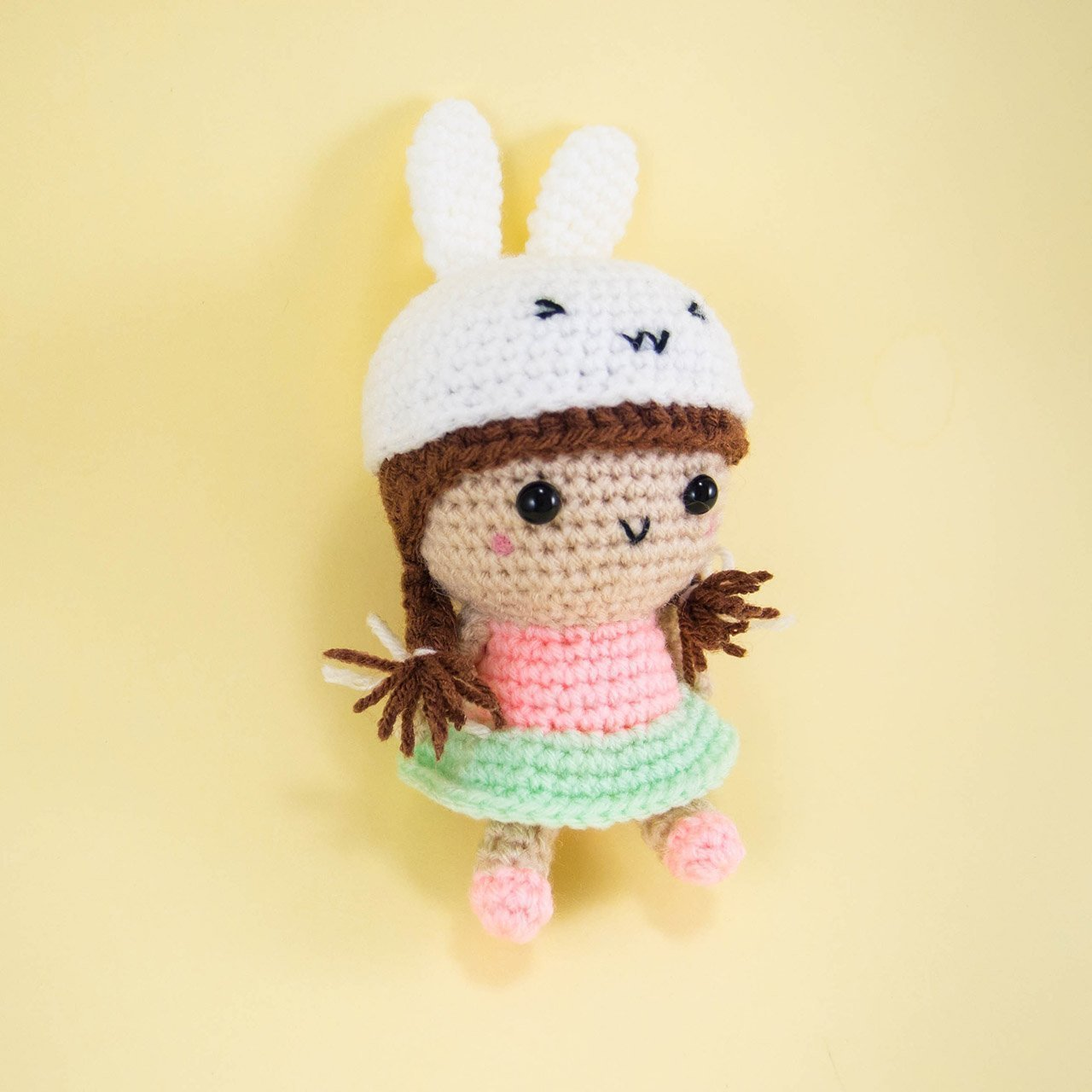 TUTORIAL: American Girl Crochet Hat | 1280x1280