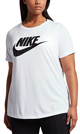 5b740b870c7d NIKE Women's Plus Size Sportswear Essential T-Shirt at Amazon Women's  Clothing store: