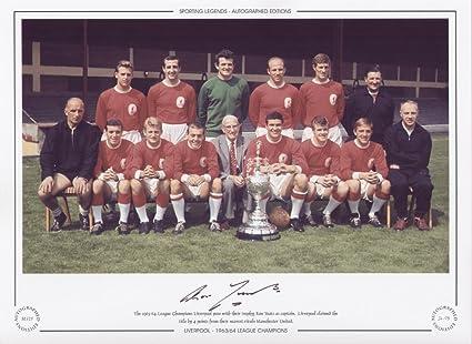 Liverpool 1963/64 Liga campeones - Ron Yeats Edición limitada ...