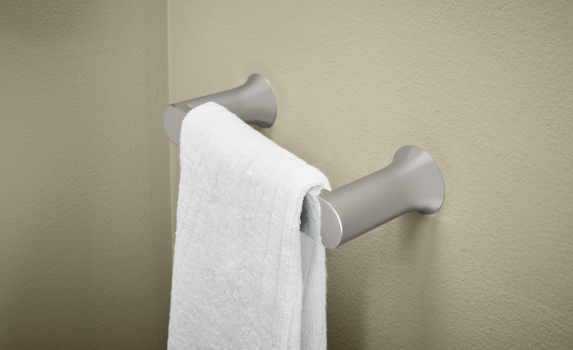Moen BH3886CH Genta Towel Ring, Chrome by Moen (Image #2)