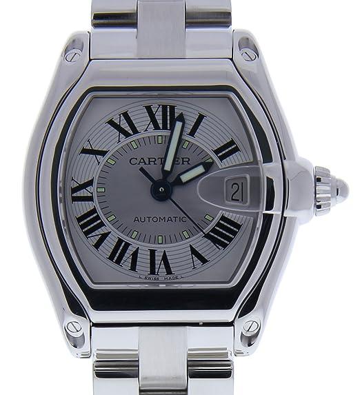Cartier Roadster Automatic-Self-Wind Mens Reloj 2510 (Certificado) de Segunda Mano: Cartier: Amazon.es: Relojes