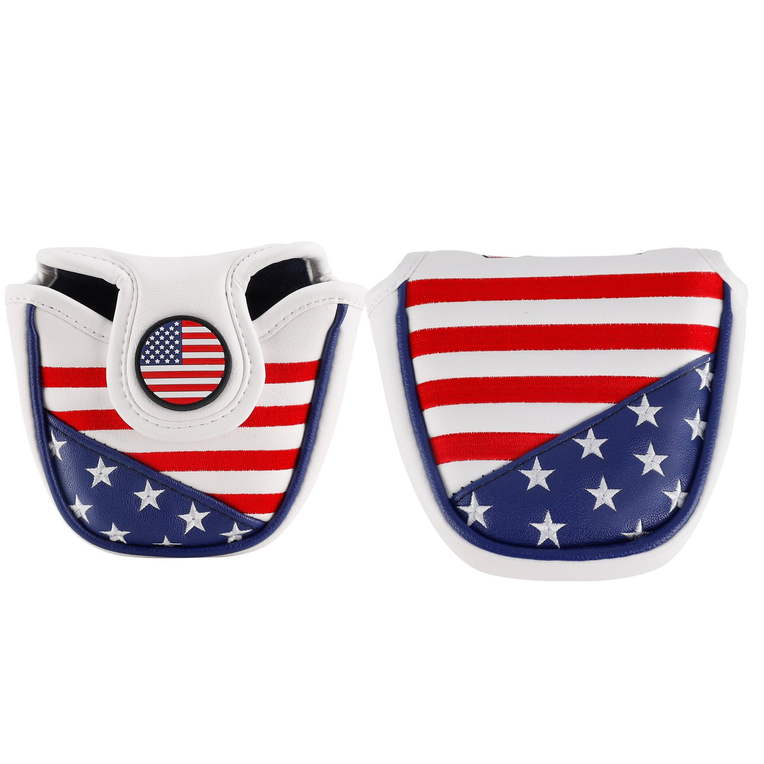 montela golf USA America Mallet Putter Cover Fit #7 Putter by montela golf (Image #2)