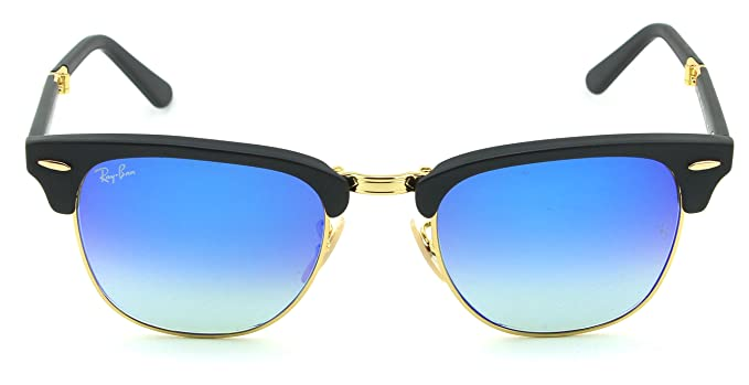 Amazon.com: Ray-Ban Rb2176 plegable Clubmaster Flash ...