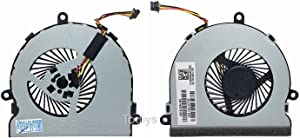 Todiys CPU Cooling Fan for HP 15-AC 15-AC020DS 15-AC121DX 15-AF013CL 15-AF131DX 15-AF141DX 15-BA008CA 15-BA009DX 15-BA010NR 15-BA013CL 15-BA113CL 15-BA138CA 15-BA140CA 250 G4 255 G4 813946-001