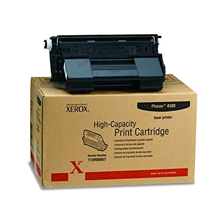 XEROX 113R00657 High-capacity print cartridge for phaser 4500, black
