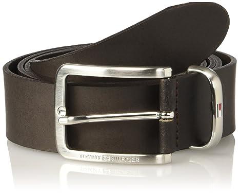 Tommy Hilfiger Men s Metal Keeper Belt 3.5 Adj (Dark Brown), 44 ... 50745f3b99c